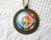 BALANCE & HARMONY mandala necklace