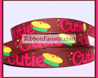"5yds 7/8"" Cutie Pie Grosgrain Ribbon"