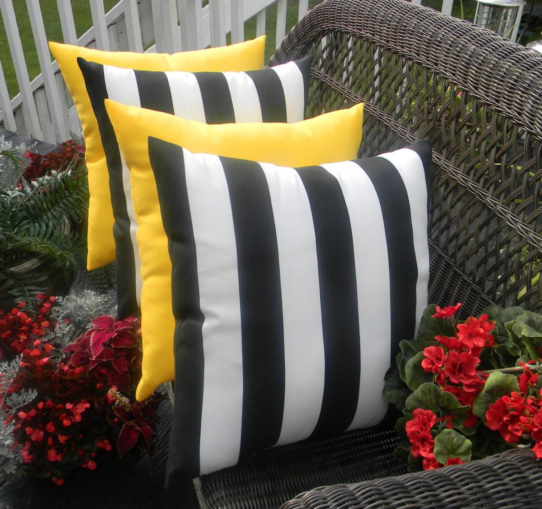 SET OF 4 Pillow Covers 17 Indoor Outdoor Decorative
