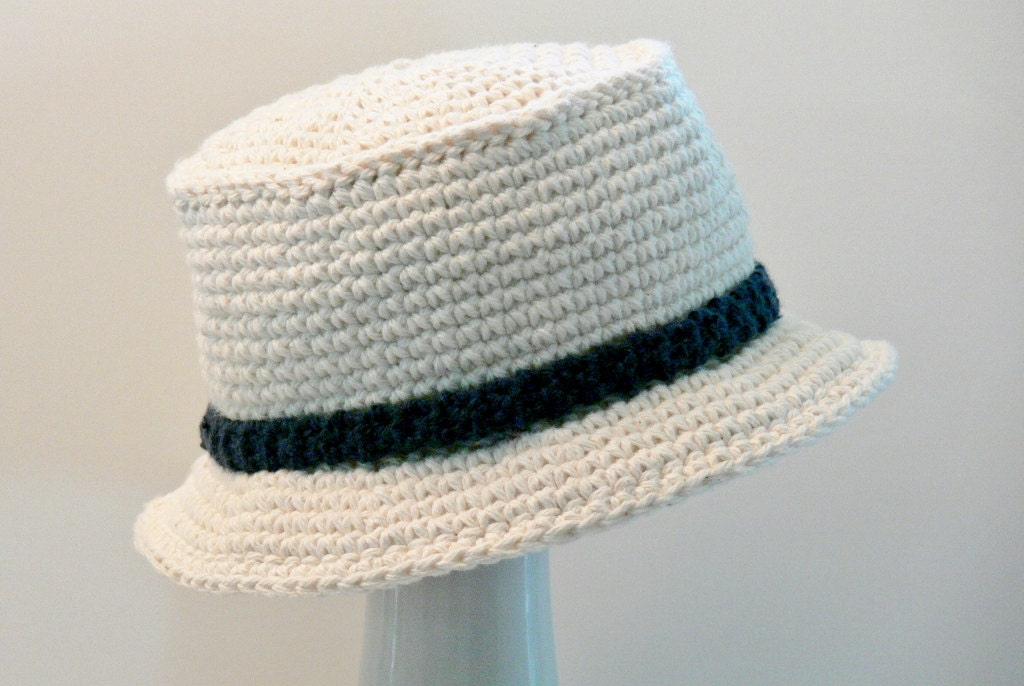 Free Crochet Pattern For Childs Owl Hat : Crochet Pattern Boys Sun Hat Summer Hat Bucket by ...