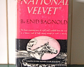 National Velvet, 1942 Vintage Book