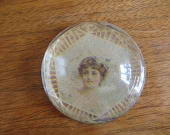Beautiful Victorian Woman Paper weight