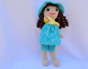 Crocheted Doll - Emma