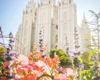 Salt Lake City, Utah LDS Mormon Temple