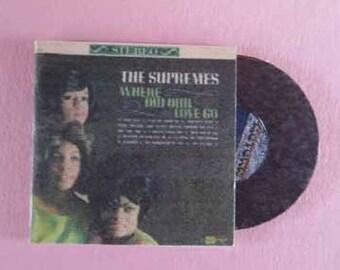 Record Album The Supremes - dollhouse miniature 1:12 scale