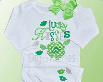 St. Patrick's Day Lucky Kisses - St Patricks Day Shirt