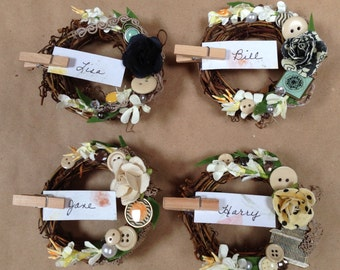 Vintage Placecard Holders