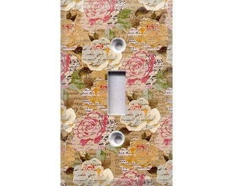 Eloise Floral Light Switch Cover