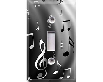 Music Notes Light Switch Cover