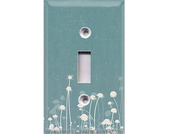 Nature Lover Collection - Dandelions Light Switch Cover