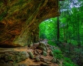 Ash Cave #3 - Hocking Hills - Cave - State Park - Ohio - Nature  - Hiking - HDR