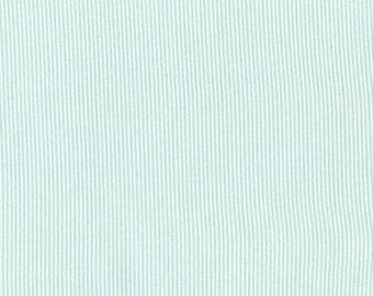 One Yard - Sunburst Stripe in Turquoise by Dear Stella - 1 yard