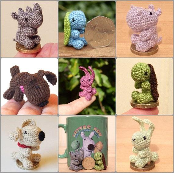 Micro Crocheted Animal