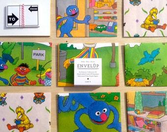 Sesame Street Envelope Set