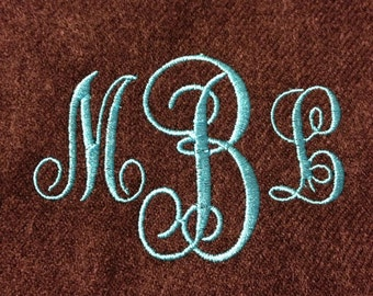 Personalized cashmere like scarf