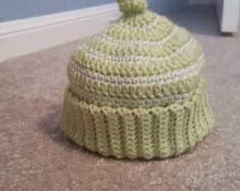 Crocheted Baby Noodle Hat