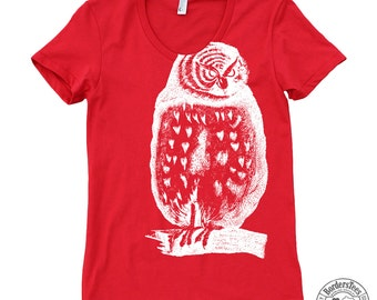 Women's OH WISE ONE American Apparel Poly-Cotton Tee