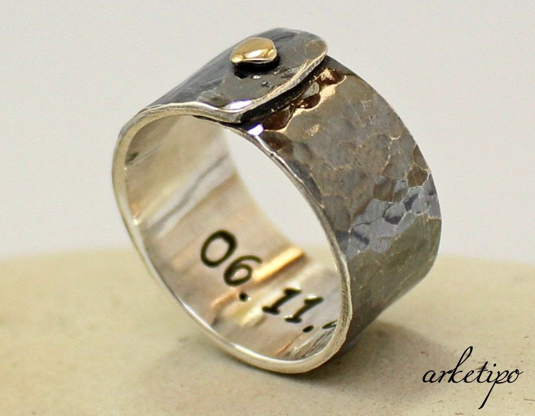 personalized sterling silver ring s s