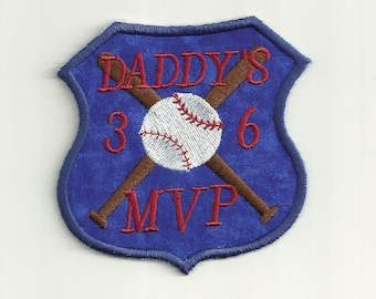 Daddy's MVP Patch, Toddler Size! Custom Made!