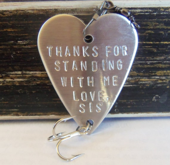 Wedding Gift For Big Sister : Wedding Gift for Brother Fishing Lures Fish Bait Sister Brother Gift ...