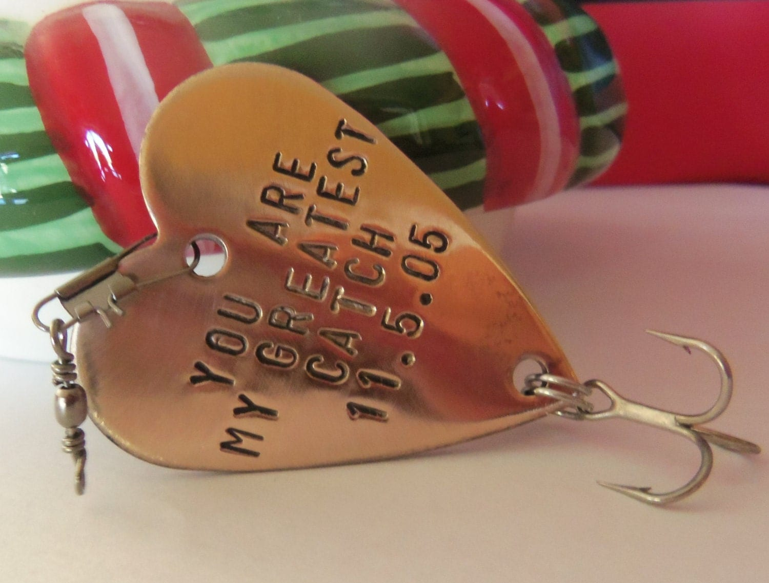 You 39 re my greatest catch personalized boyfriend christmas for Unique fishing gifts