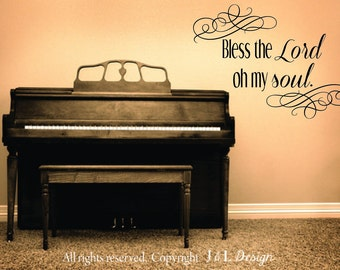 Bless the Lord vinyl (decal)