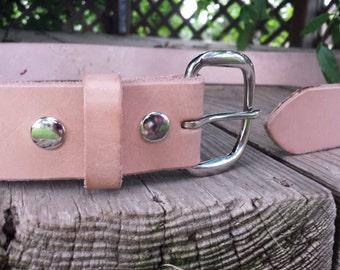 Best VALUE! Raw Leather Belt, Minimalist belt blank