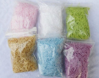 1 pack 15g paper shred filler for gift package paper box
