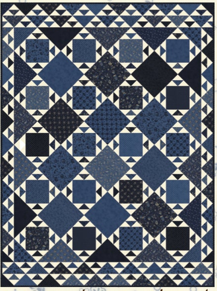 Great Lakes Patchwork Quilt Pattern By Minick And Simpson