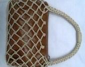 Cara Lopez Vintage Tan Zi...