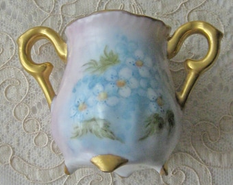 Vintage to Antique Handpainted Porcelain Tooth Pick Holder