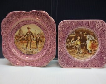 Set of Oliver Twist collectable plates A English Ware Lancasters Ltd. Hanley Eng