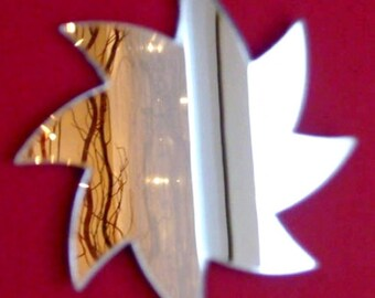 Spiral Star Shaped Mirrors - 5 Sizes Available