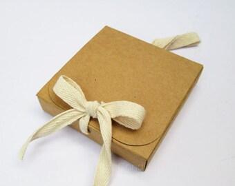 Brown Kraft Box, Gift Box Set of  20