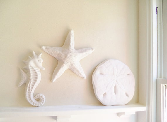 Nautical Wall Decor Trio Of Wall Hanging Sculptures Sea