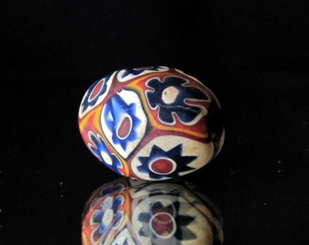 handmade colorful indonesian glass bead (01)