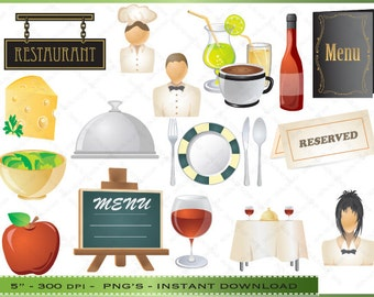 Popular Items For Table Clipart On Etsy