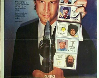"Movie Poster  ""FLETCH""  Original  1985   - Chevy Chase    Rare"