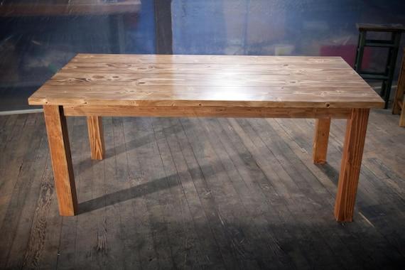 solid wood farmhouse table farmhouse dining table farmhouse