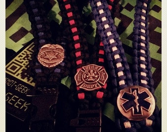 Public Safety/First Responder Paracord ID Lanyard