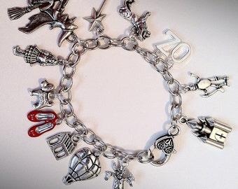 Wizard of Oz Inspired Charm Bracelet