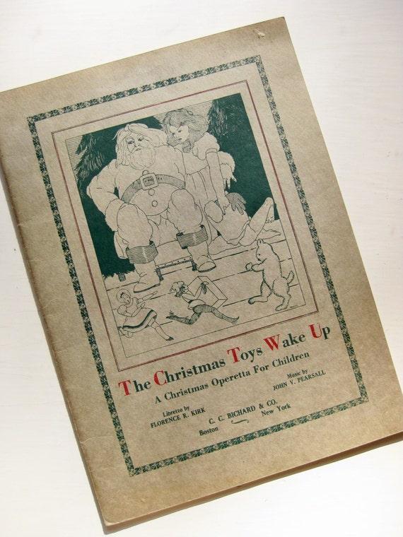 "Christmas Operetta for Children. ""The Christmas Toys Wake Up"""