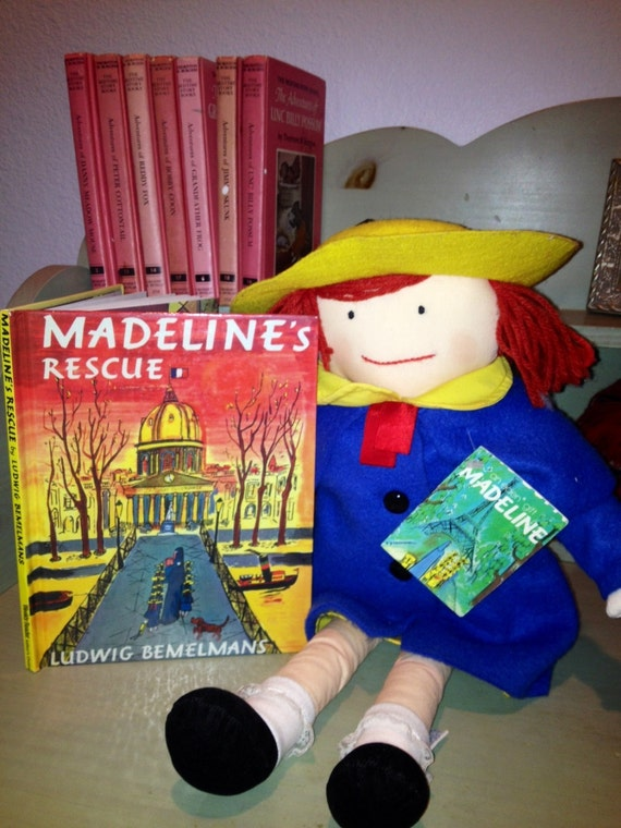Adorable 18 Madeline Doll And Madeline S Rescue