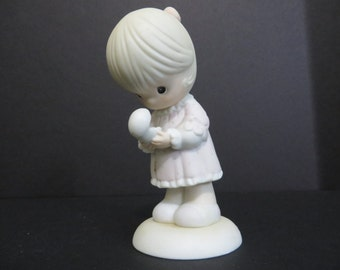 Precious Moments Always in His Care Special 1990 Limited Edition