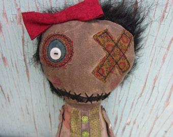 Roxy Handmade Art Doll