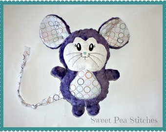 Personalized Mouse Stuffie