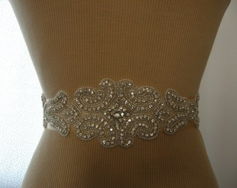 SALE, Wedding Belt, Bridal Belt, Bridesmaid Belt, Sash Belt, Wedding Sash, Bridal Sash, Belt, Crystal Rhinestone