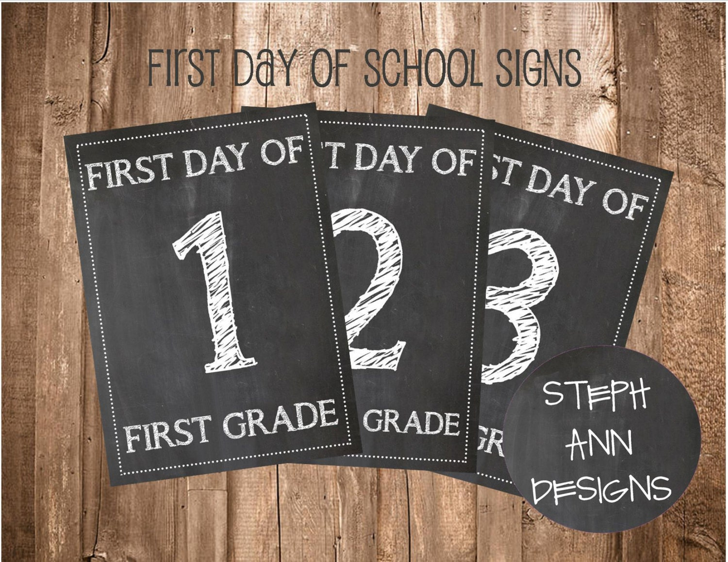 It's just an image of Intrepid Free Printable First Day of School Signs 2020-2020