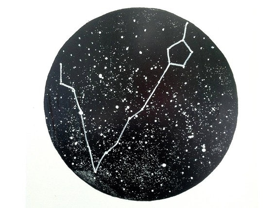 Pisces Constellation Print