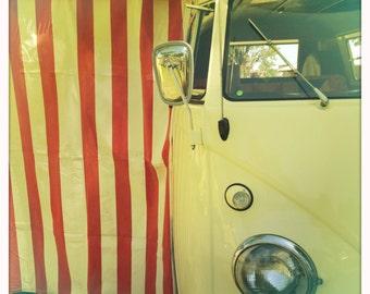 4 x 4 photo card-Cabana VW bus